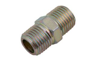 Connect 30965 Double Equal Union Air Line Connector 1/4 BSP Pk 5